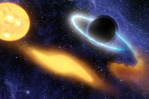 Some space Black Hole art!