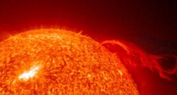 The Sun and solar flare!